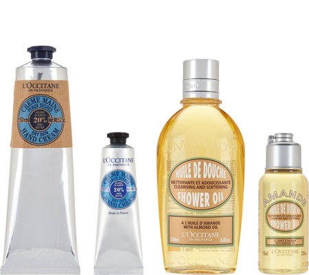 L'Occitane Shea & Almond Home & Away 4-piece Set
