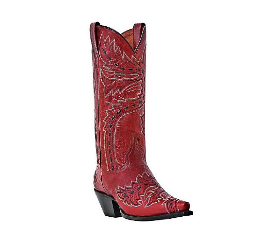 Dan Post Leather Cowboy Boots - Sidewinder