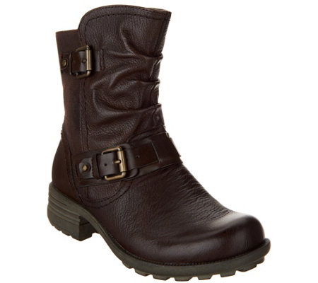 Earth Origins Leather Mid Boots Patrice