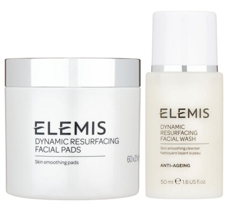 ELEMIS Dynamic Resurfacing Facial Pads and Facial Wash