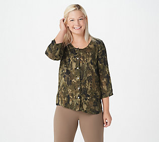 Hat Not Included Camo Cutie 3 Metal Button Camou Top With Green Skirt