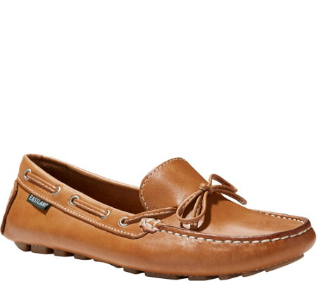 Eastland Leather Slip-on Driving Moccasins - Marcella