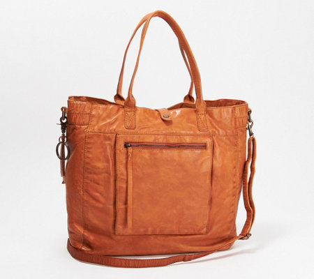 frye & co. Washed Leather Rubie Tote