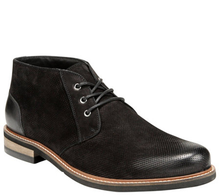 Dr. Scholl's Men's Perforated Leather Chukka Boots - Willing