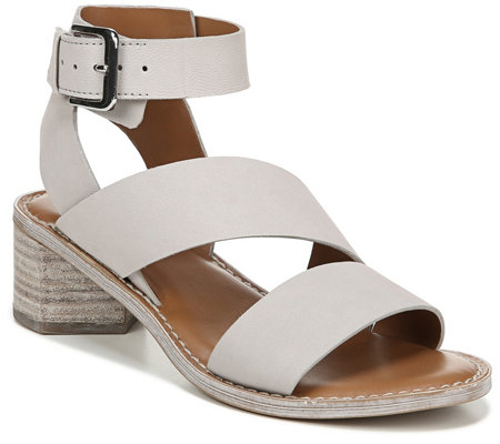 Franco Sarto Strappy Leather Sandals - Kaelyn