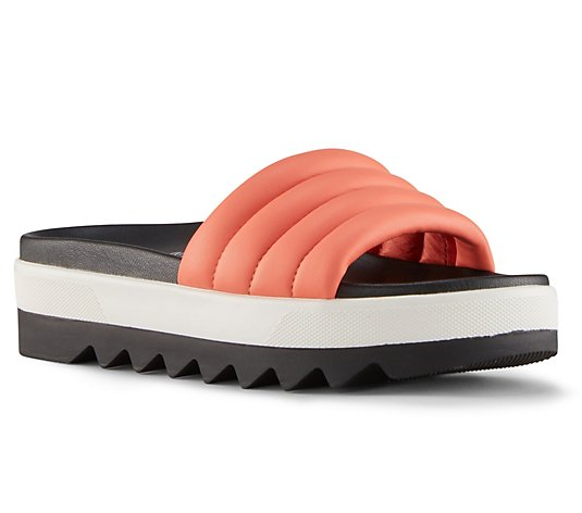 Cougar Slide Leather Sandals - Prato