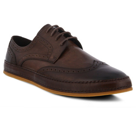 Spring Step Men S Leather Lace Up Oxfords Joey