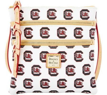 Dooney & Bourke NCAA University of South Carolina Zip Crossbody