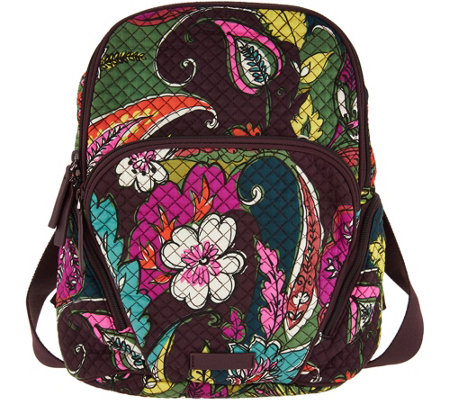 """As Is"" Vera Bradley Signature Print Hadley Backpack"