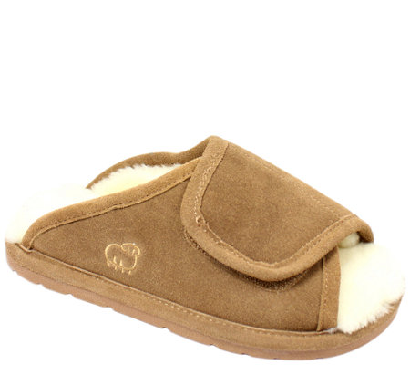 Lamo Dije California Leather Wrap Adjustable Slippers