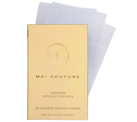 Mai Couture Lavender Oil Blotting Papier