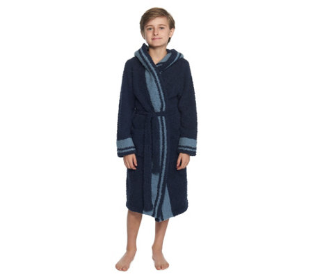 Barefoot Dreams Youth Cozychic Striped Robe