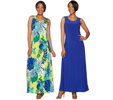 Attitudes by Renee Regular Set of Two Knit Dresses