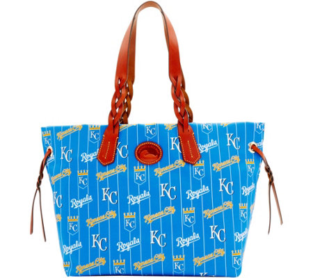 Dooney & Bourke MLB Nylon Royals Shopper