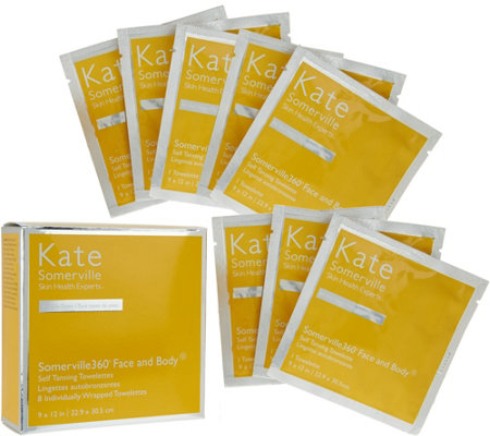 Kate Somerville Somerville360 8-Pack Tanning Towels Auto-Delivery