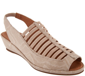 4cf7373969a5 Gentle Souls Leather Slingback Sandals - Lee - A292574