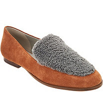 Lori Goldstein Collection Loafer with Faux Sherling Detail - A295774