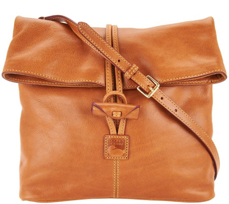 """As Is"" Dooney & Bourke Florentine Medium Toggle Crossbody"