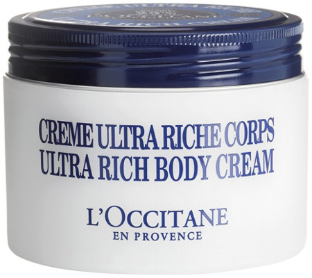 L'Occitane Ultra Rich Shea Body Cream, 7 oz