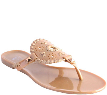 Nomad Jelly Sandals - Jujube