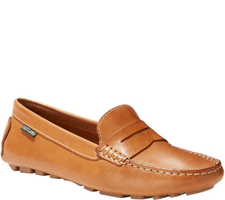 Eastland Leather Slip-on Driving Mocassins - Patricia