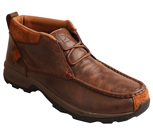 Twisted X Men's Waterproof Leather Chukka HikerLoafers