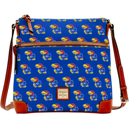 Dooney & Bourke NCAA University of Kansas Crossbody