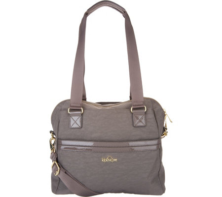 """As Is"" Kipling Nylon Satchel- Dolan"