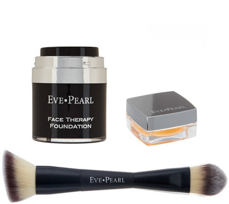 EVE PEARL Face and Lip Therapy w/ 201 Contour Blending Brush