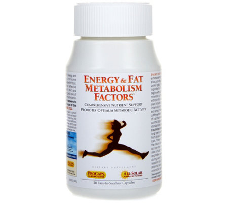 Andrew Lessman Energy & Fat Metabolism Factors 30 Capsules