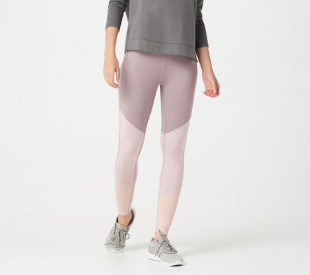 Tracy Anderson for G.I.L.I Petite Color-Blocked Leggings