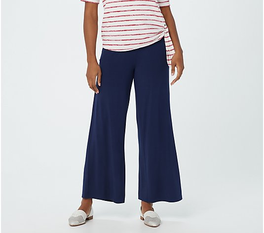 Belle by Kim Gravel Knit Palazzo Pant