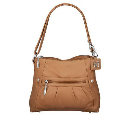 Stone Mountain Leather Convertible Shoulder Amy Bag