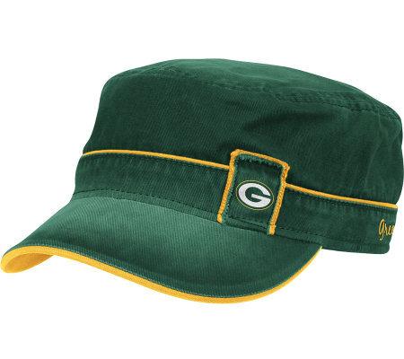 8bb1a3e9b5b NFL Green Bay Packers Women s Military Hat — QVC.com