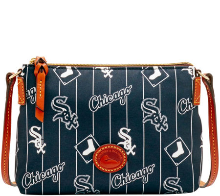 Dooney & Bourke MLB Nylon White Sox Crossbody Pouchette