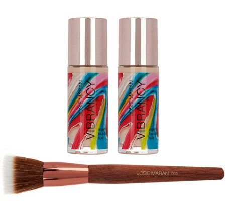 Josie Maran Super-size Vibrancy Foundation with Brush