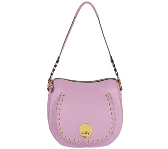 Oryany Pebble Leather Shoulder Bag Janessa A289576