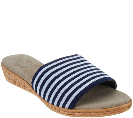 Charleston Shoe Co. Single Band Slides - Seabrook
