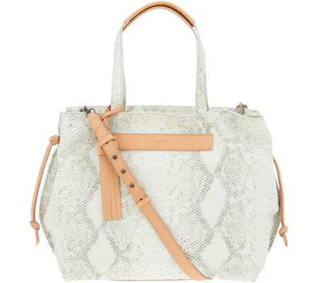 Liebeskind Python Leather Tote Bag - Ella