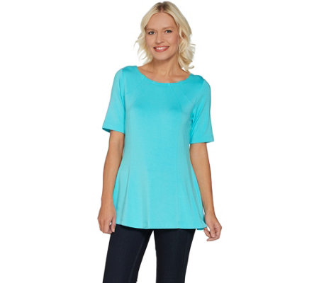 Belle by Kim Gravel Essential Fit and Flare Top