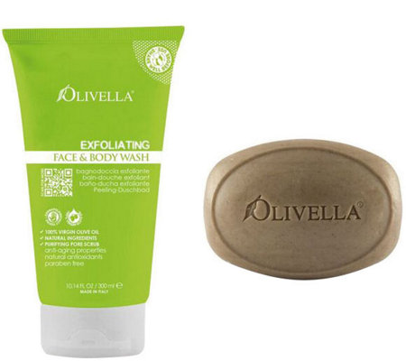 Olivella Face & Body Exfoliating Kit