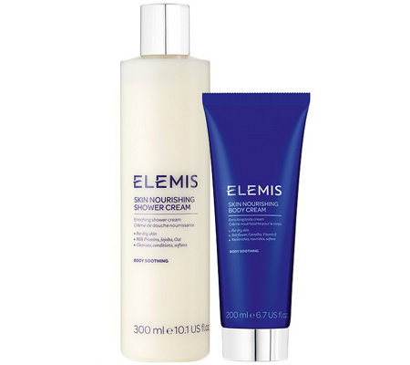 ELEMIS Skin Nourishing Shower & Body Cream Duo