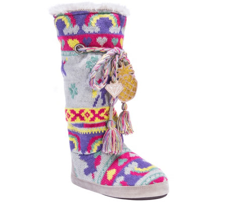 MUK LUKS Tall Slippers - Grace