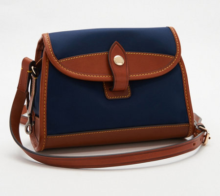 Dooney & Bourke Camden Collection Nylon Flap Crossbody