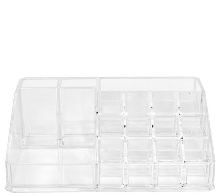 Sorbus Makeup Storage Case Display, 16 Slots