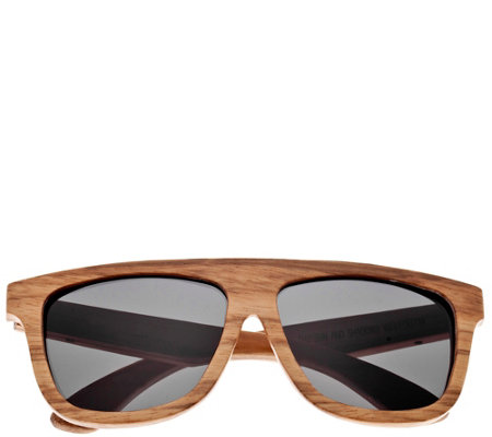 Earth Wood Imperial Polarized Unisex Sunglasses