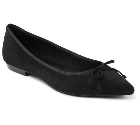 Kensie Slip On Pointed Toe Flats Magali