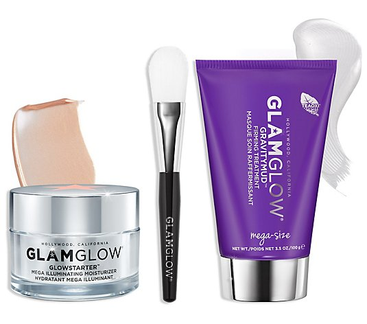 GLAMGLOW Glow Game Strong - Firming Mask + Moisture Set