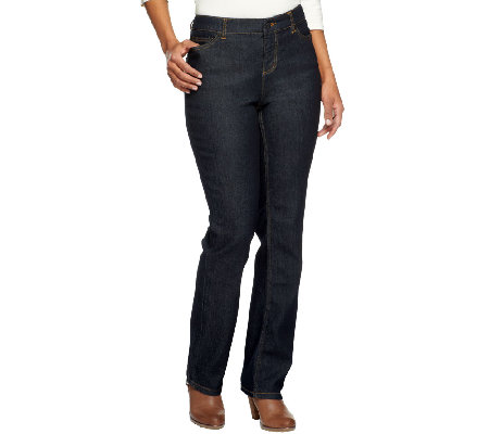 Liz Claiborne New York Regular Jackie Straight Leg Jeans