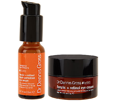 Dr. Gross Ferulic Acid & Retinol Firming Eye Treatments Auto-Delivery